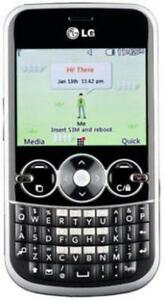 LG GOSSIP GW300 CELL AVEC UN CLAVIER QWERTY POUR FIDO ROGERS CHATR 3G GSM CAMERA VIDEO BLUETOOTH MP3 MP4 FONCTIONEL