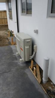 air conditioner installation $450
