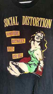 SOCIAL DISTORTION 1999 Bad Luck vintage licensed concert tour shirt XL Brand New