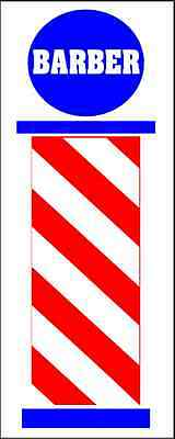 Barber Pole Banner Sign New Xl Extra Large 4 Hair Salon Nail Supply Tip Shop