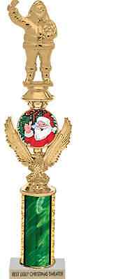 Ugly Christmas Holiday Sweater Party Trophy Green with Eagle by Crazy Holidaze (Ugly Christmas Sweater Trophy)