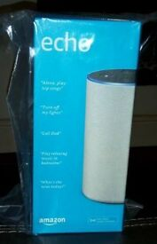 Amazon echo. Brand new sealed.