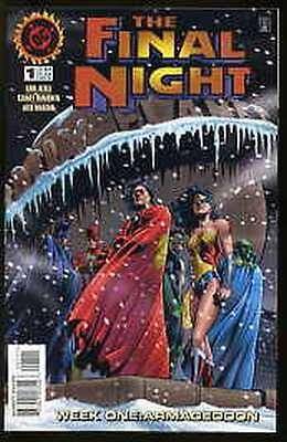 FINAL NIGHT #1-4 VERY FINE / NEAR MINT COMPLETE SET 1996