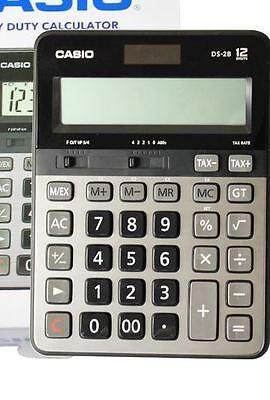 Casio DS-2B HEAVY DUTY Calculator Desk-Top Type 12Digits new