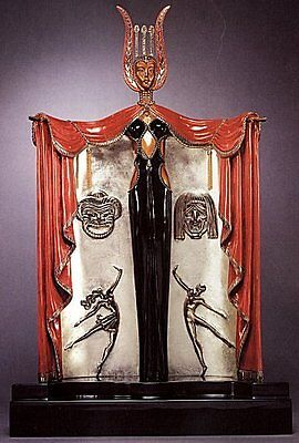 "Erte    (Romain De Tirtoff)      ""Broadway's in Fashion""     Bronze   MAKE OFFER"