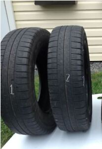 Two (2) P205/R70R16 GOODYEAR - EAGLE LS