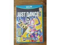 Just dance wii u very good condition hardly used
