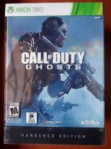 ●○●BRAND NEW CALL OF DUTY GHOSTS HARDENED EDITION XBOX 360●○●