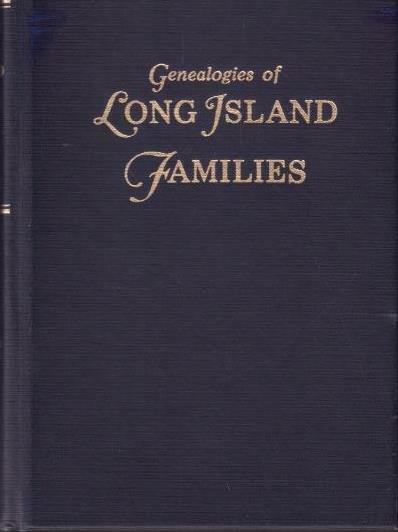 1987 1st ED GENEALOGIES OF LONG ISLAND FAMILIES VOL 2 PRAA- HARD COVER EXCELLENT