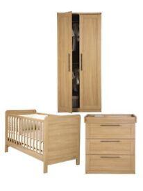 Mamas and papas Rialto nursery set