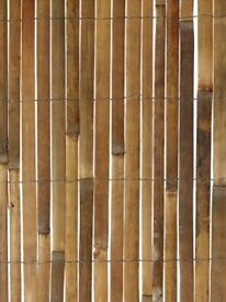 TWO New 4.0m x 2.0m Bamboo Slat Fencing Screening by Papillon RRP £34.99 EACH