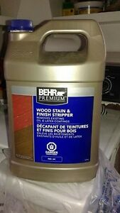 EXTERIOR wood stain & finish stripper