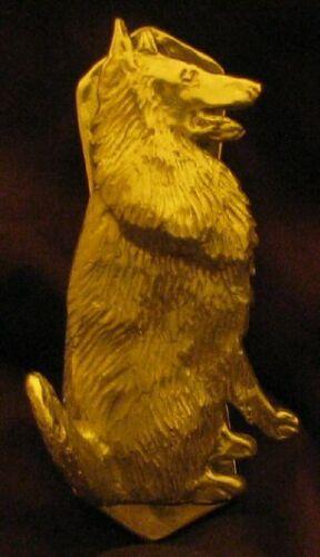 BELGIAN SHEEPDOG (GROENENDAEL OR TERVUREN) Solo Door Knocker in Bronze
