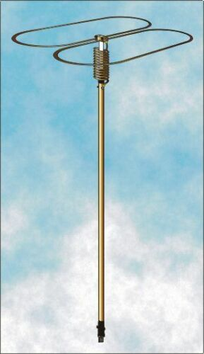"""GOLDENROD 45"" 11 METERS CB OMNI MOBILE ANTENNA 12,000 WATTS BROADBAND"