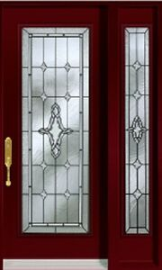 Single Front Entry Door SideLight