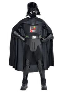 Boys Darth Vader Costume deluxe- Star Wars size M , Party city