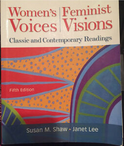 SELLING womens voices feminist visions Kitchener / Waterloo Kitchener Area image 1