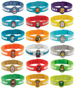 Allergy Medical Alert Bracelets For Kids