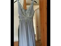 Bridesmaid dress grey wedding dress