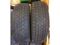 Michelin Latitude Alpin winter tyres 215/60/R17