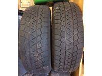 Michelin Lattitude Alpin winter tyres