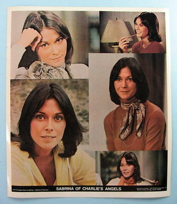 CHARLIE'S ANGELS Kate Jackson (Sabrina) Original 1977 TV Show Poster Put-On