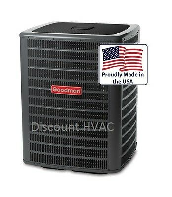 4 ton 2-stage 18 SEER Goodman central air condition AC unit Condenser DSXC180481