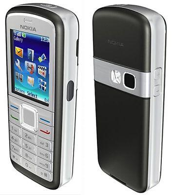 Silver Nokia Pouch - WORKS SILVER BAR PHONE NOKIA 6070b FIDO CELLULAR MOBILE CELL SMALL POCKET CAMERA