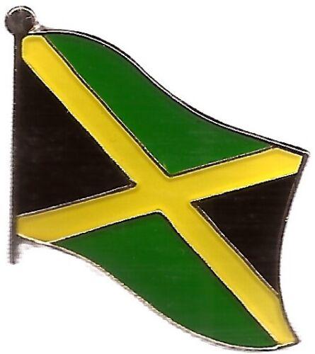 LOT OF 12 Jamaica Flag Lapel Pins - Jamaican Flag Pin