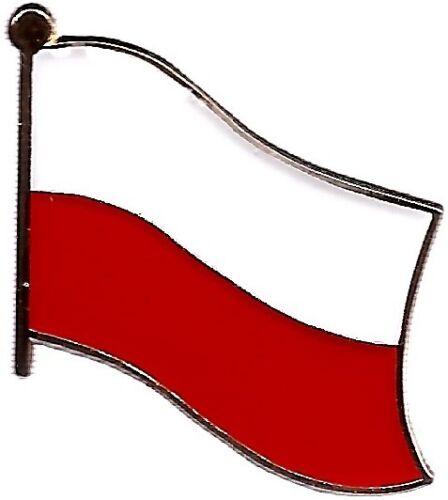 LOT OF 12 Poland Flag Lapel Pins - Polish Flag Pin