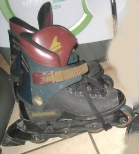 Used Lightning TRS Rollerblades, Size 5, good condition