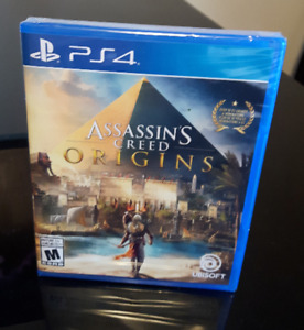 Assassin's Creed Origins - (PS4) - New / Sealed