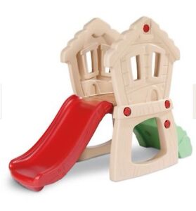 Little tikes hide and climb