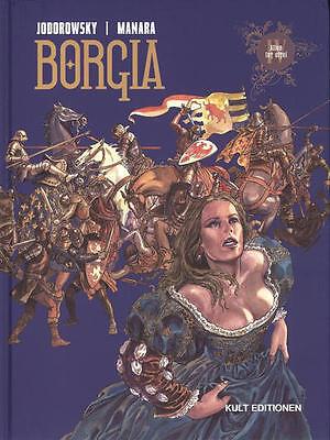 Borgia Nr: 4 HC von Jodorowsky / Manara in Topzustand !!!