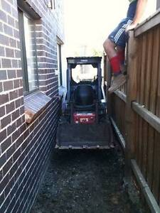 Mini Bobcat/Excavator hire tight/difficult access excavation Sydney City Inner Sydney Preview