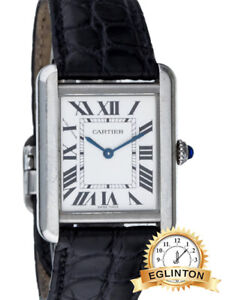 CARTIER TANK SOLO WATCH 3170