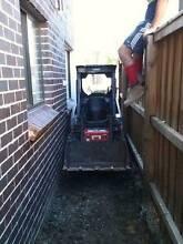 Mini Bobcat/Mini Excavator tight/difficult access excavation Sydney City Inner Sydney Preview