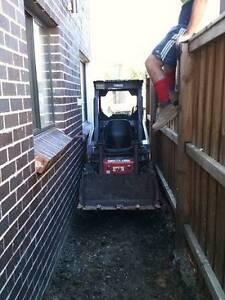 Mini Bobcat/Excavator hire tight/difficult access excavation Sydney City Inner Sydney Preview