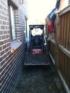 Bobcat/Excavator hire tight/difficult access excavation Sydney City Inner Sydney Preview