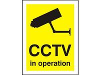 CCTV Installation Full Hd 1080p Supply and Fit / Burglar Alarms and Door Intercom Services