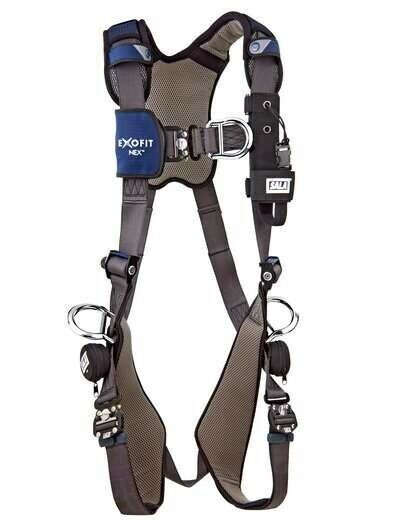 3M DBI-SALA Full Body Harness,ExoFit NEX,SIZE LARGE, 1113212