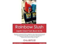 SLUSH PUPPY MACHINE Refurbished twin bowl machine, 2 x 10 litre tanks cheaper than others on EBay