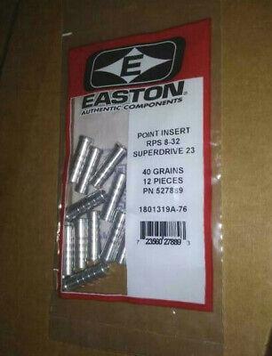 1 DZ NEW EASTON ARCHERY A//C//E POINT INSERTS 1206-H 39 GRAINS