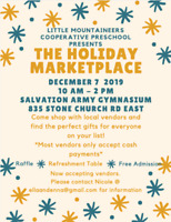 Holiday Marketplace Vendor Event