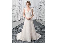 UK 10 - 12 Ivory Justin Alexander Wedding Dress