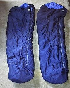 Two sleeping bags from The North Face