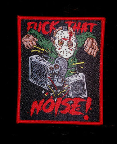 PATCH - Jason Voorhees - Horror, F That Noise! Friday 13th takes Manhattan woven