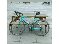 Bianchi road bike and extras
