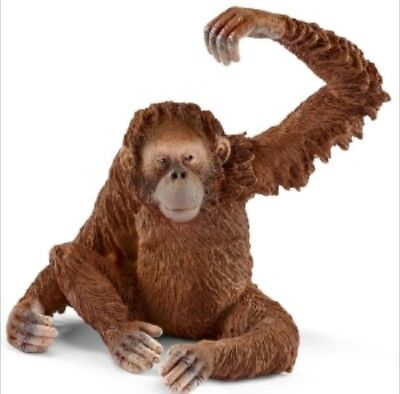 Schleich Female Orangutan Collectible Toy Figure Brand New with Tag Item 14775