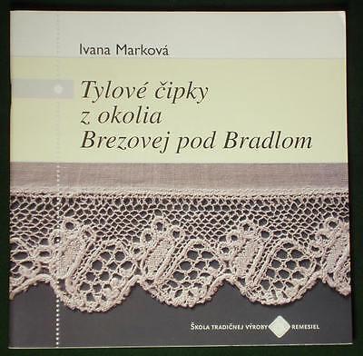 BOOK Handmade Slovak Bobbin Lace Patterns antique tulle folk costume kroj bonnet for sale  Shipping to India